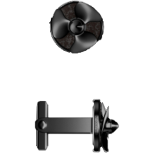Cufflinks-black-black